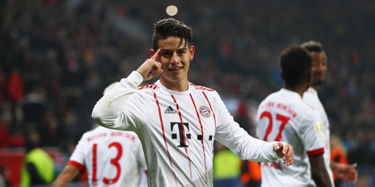 El Bayern de James buscará mantener su paso ganador ante el Mainz