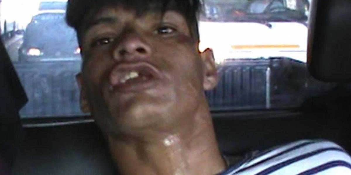 'Satanás' se pone a llorar tras ser capturado por robo en Lima
