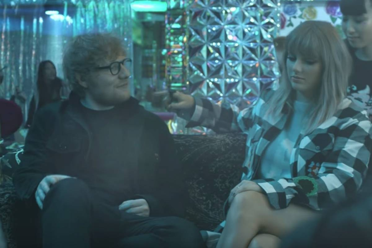 Taylor Swift estrena 'End Game' al lado de Ed Sheeran