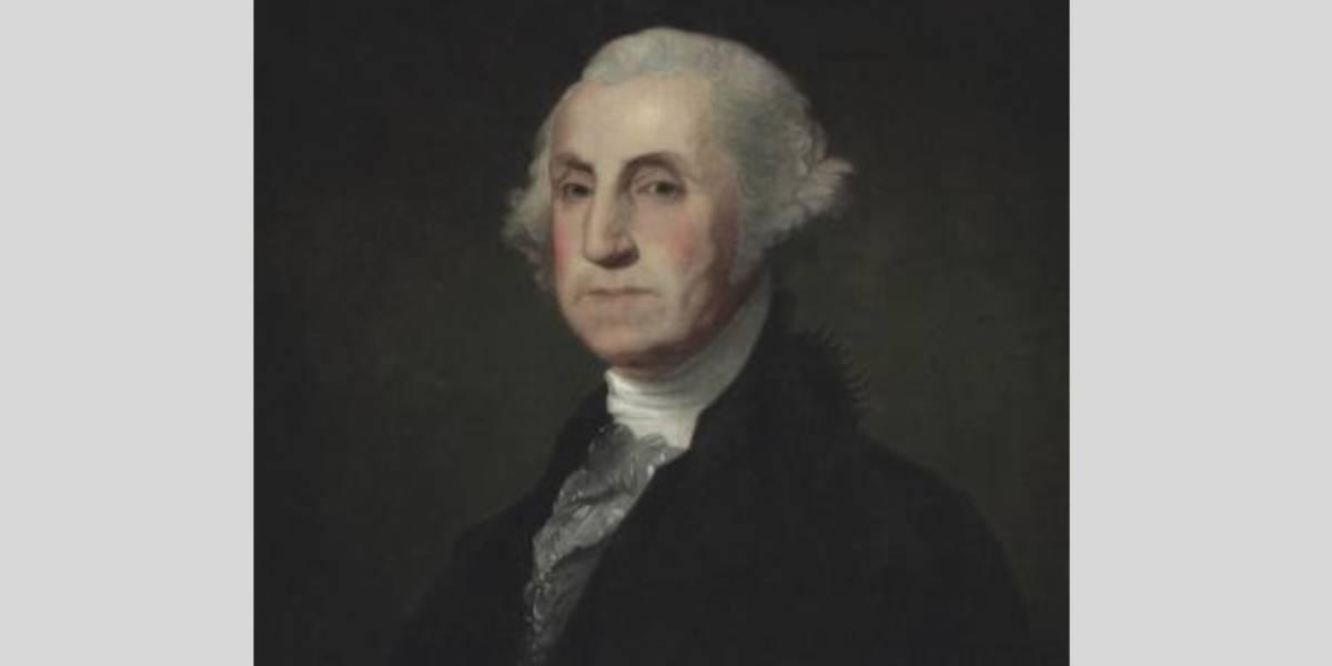 A subasta retrato de George Washington que fue propiedad de Bolívar