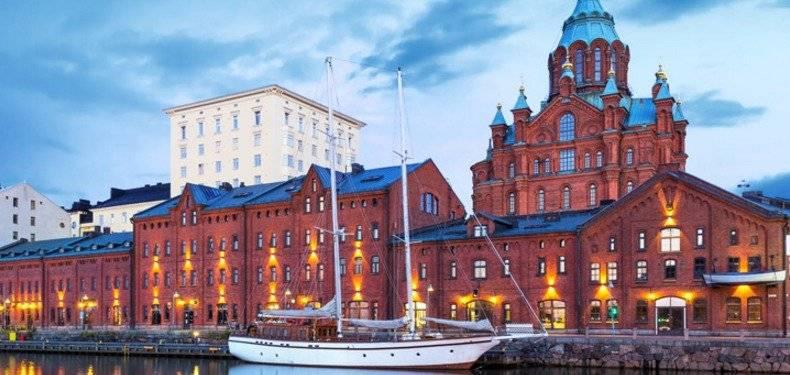 Helsínquia, na Finlândia