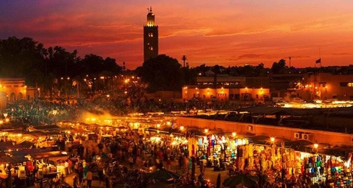 Marrakech, em Marrocos
