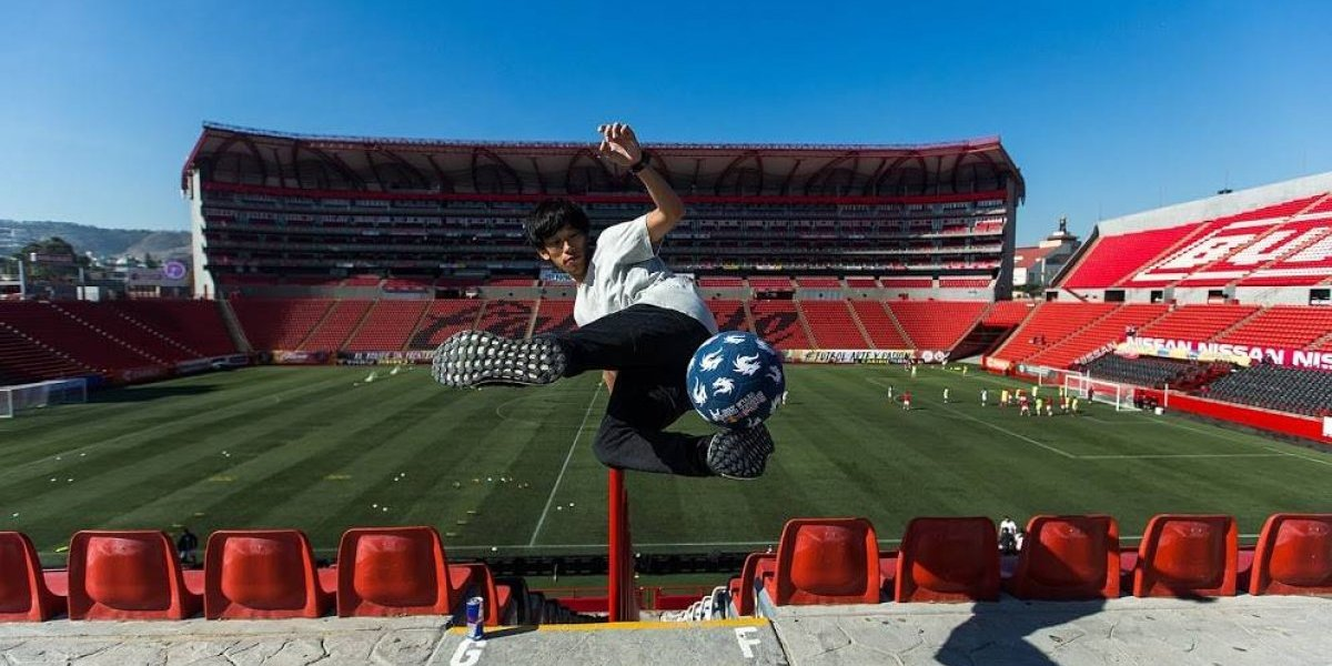 VIDEO: Freestyle Soccer visita a los Xolos de Tijuana