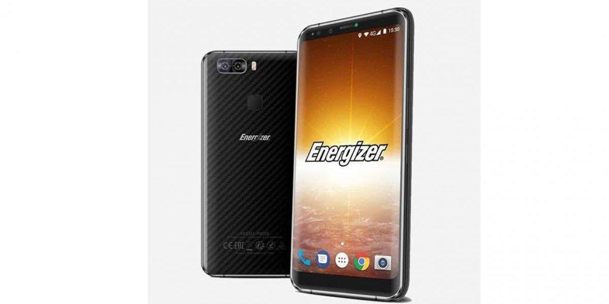 """Energizer lanza smartphone de """"batería infinita"""""""