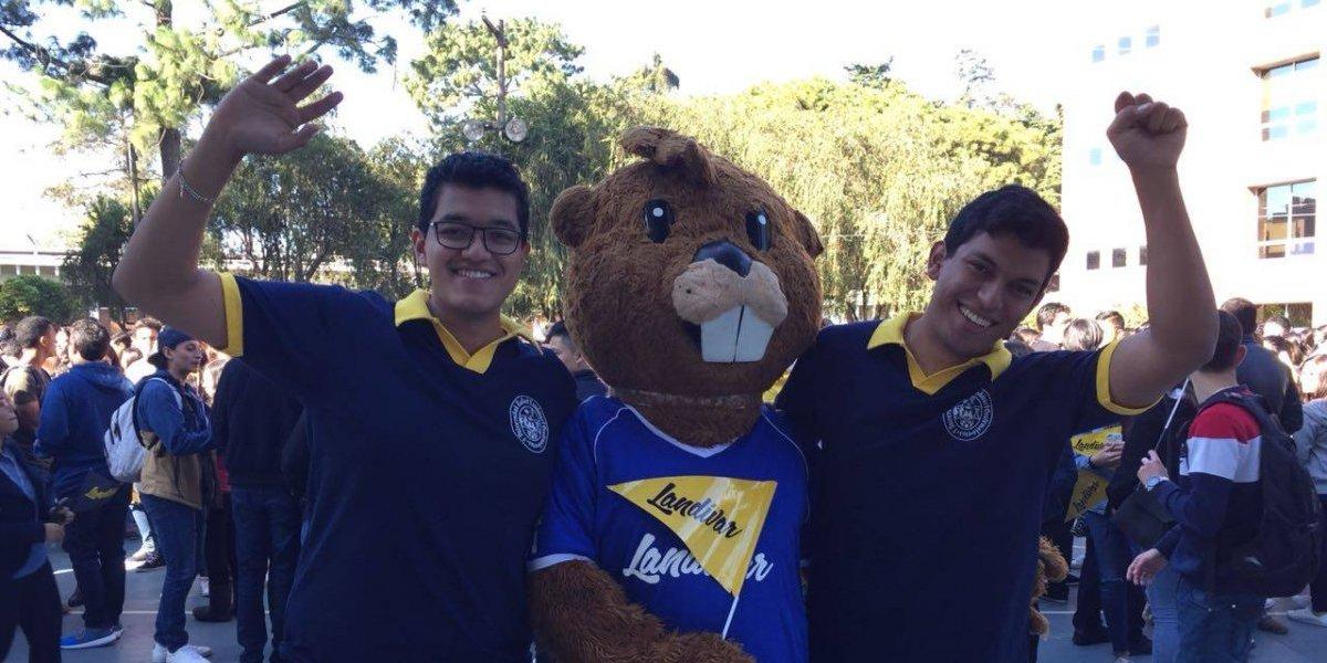 Así le dan la bienvenida a los nuevos estudiantes de la Universidad Rafael Landívar