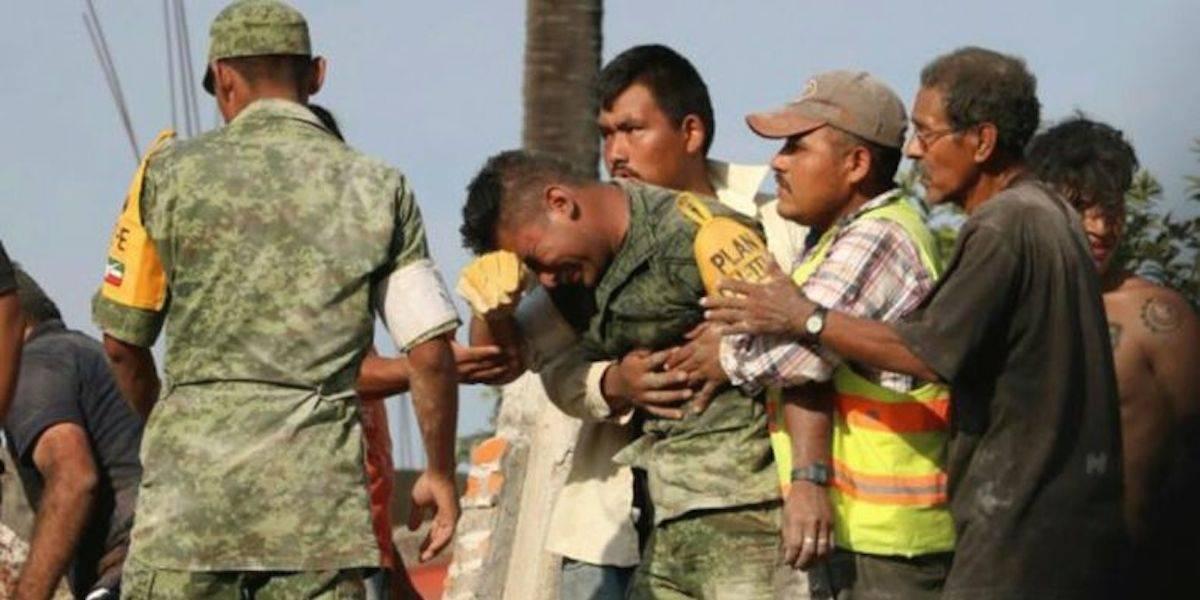 Soldado rescatista en el 19-S no murió acribillado: Sedena