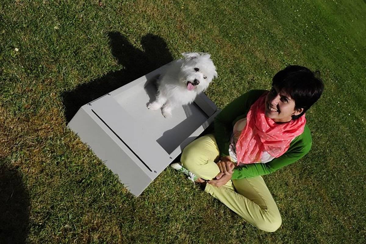 Pipopet es un inodoro para mascotas Pipopet, pensado para la comodidad de perros, gatos y sus propietarios, el único sistema de este tipo en el mundo 100 por ciento autónomo. FOTO: PIPOPET.