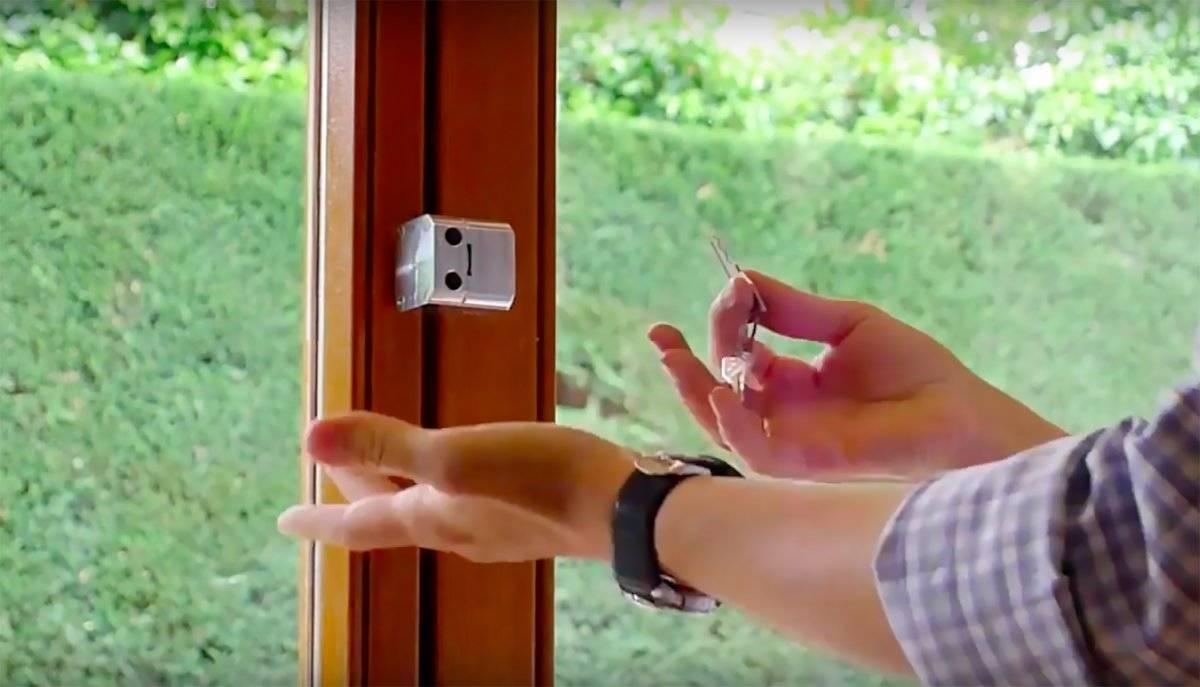 La cerradura portátil Abaki es pequeña y fácil y rápida de montar. FOTO: ABAKI
