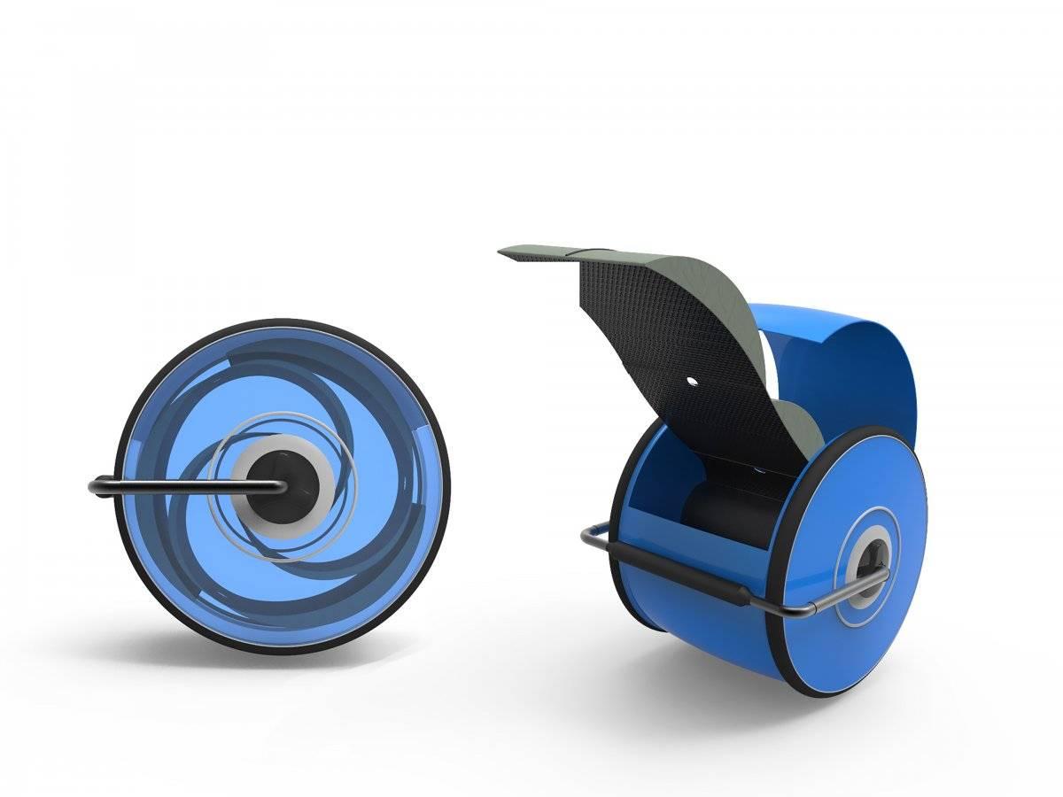 Twistbag es una maleta cilíndrica que garantiza que la ropa nunca se arrugue en los viajes. FOTO. TWISTBAG.