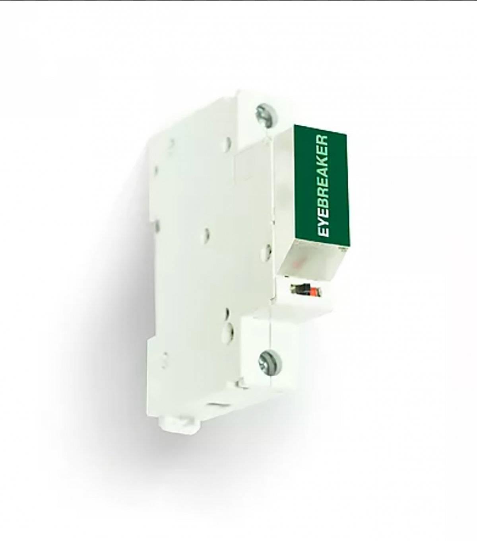 EyeBreaker es una luz de emergencia diseñada para iluminar el cuadro de distribución eléctrica cuando se produce un corte de luz. FOTO. EYEBREAKER