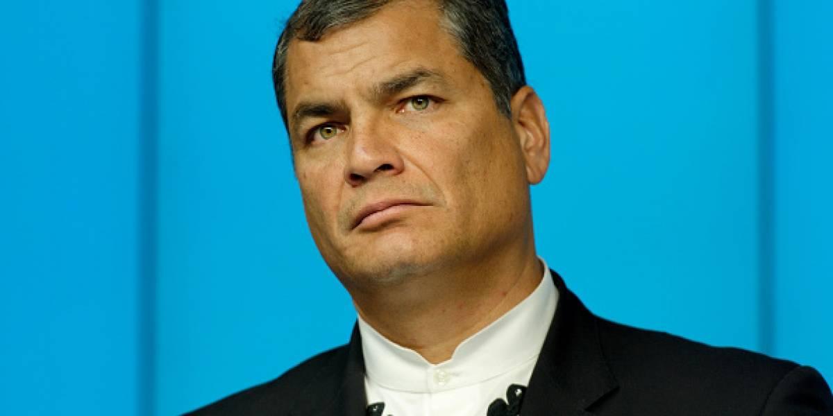 Rafael Correa hizo un llamado a los jóvenes