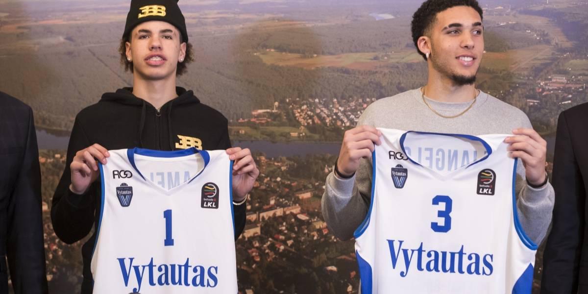 Hermanos Ball debutan en Lituania sin anotar puntos