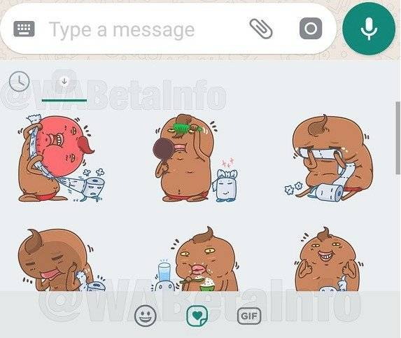 Nuevos stickers WhatsApp WABetaInfo