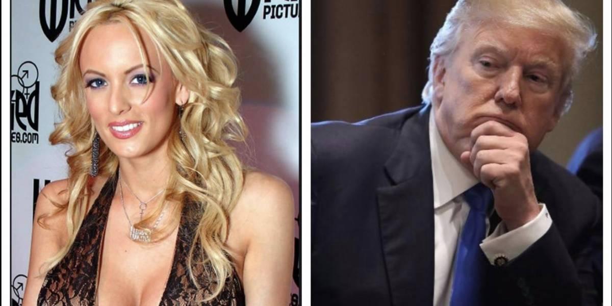 Revelan que Donald Trump le habría sido infiel a su esposa con famosa actriz