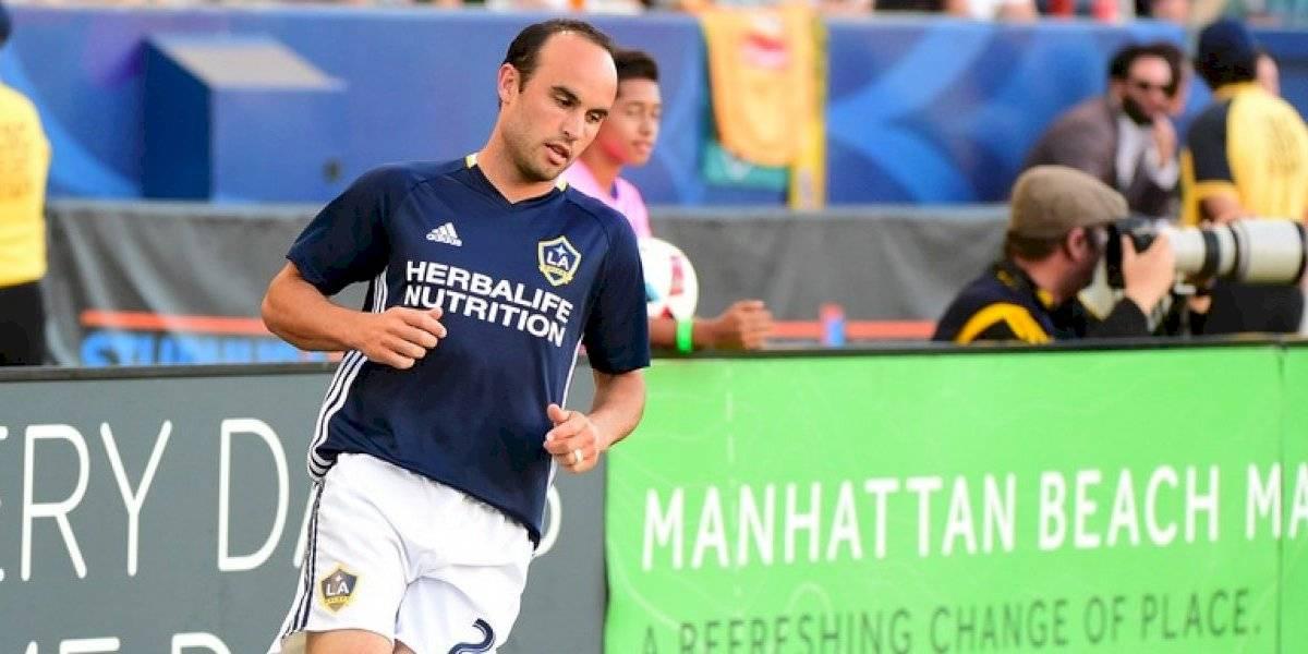 Landon Donovan calienta la final de la Copa Oro