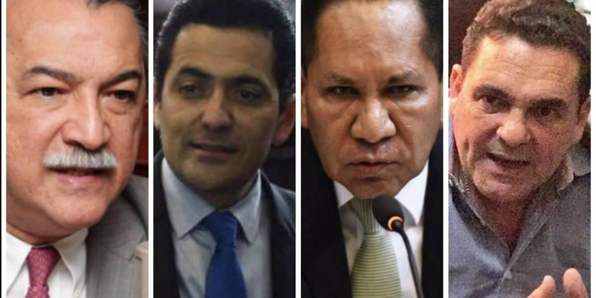 Ellos son los candidatos a presidir el Congreso