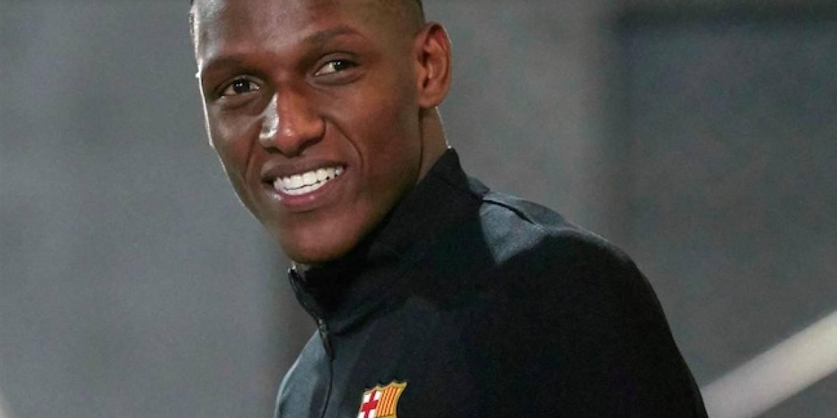 La pregunta que le quitó la sonrisa a Yerry Mina en rueda de prensa