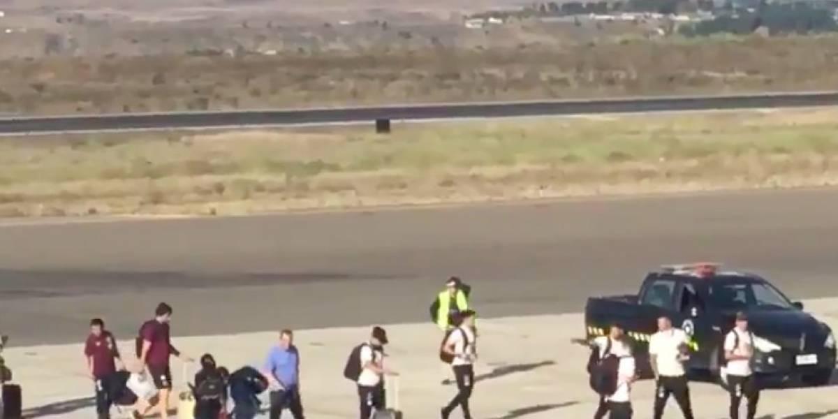 Colo Colo llegó a La Serena para comenzar su pretemporada en la Cuarta Región