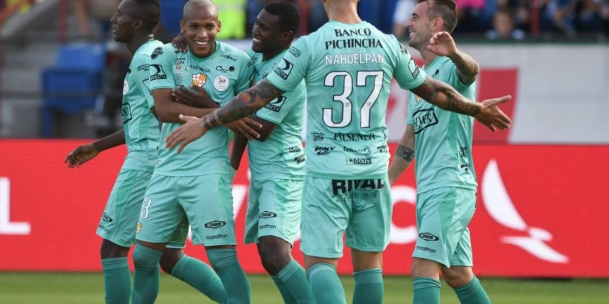 Barcelona SC derrotó 3x1 al Fluminense en la Florida Cup