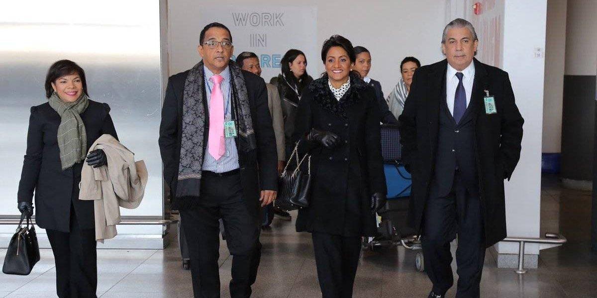 Primera dama viaja a Nueva York para asistir misa en honor Virgen Altagracia