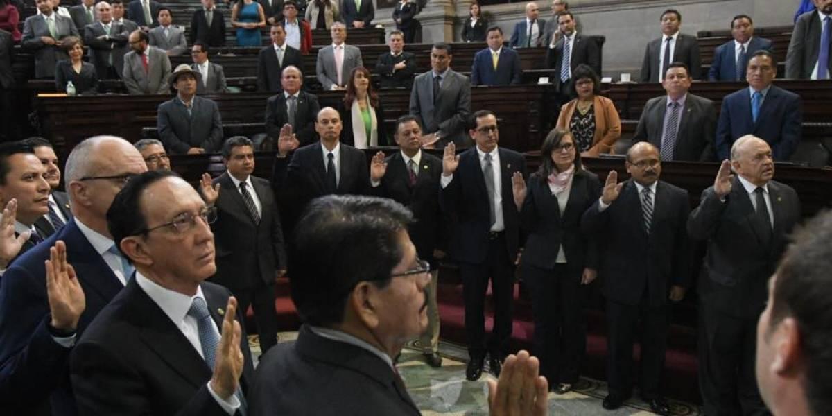 Congreso juramenta a la Comisión de Postulación para fiscal general