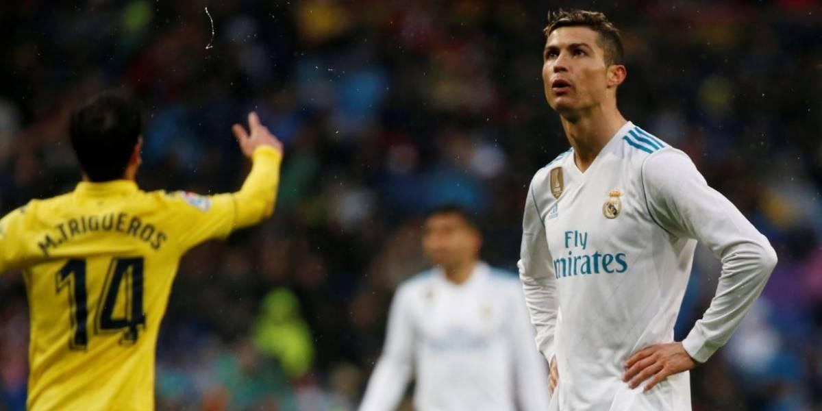 Real Madrid se afunda em crise com derrota em casa para o Villarreal