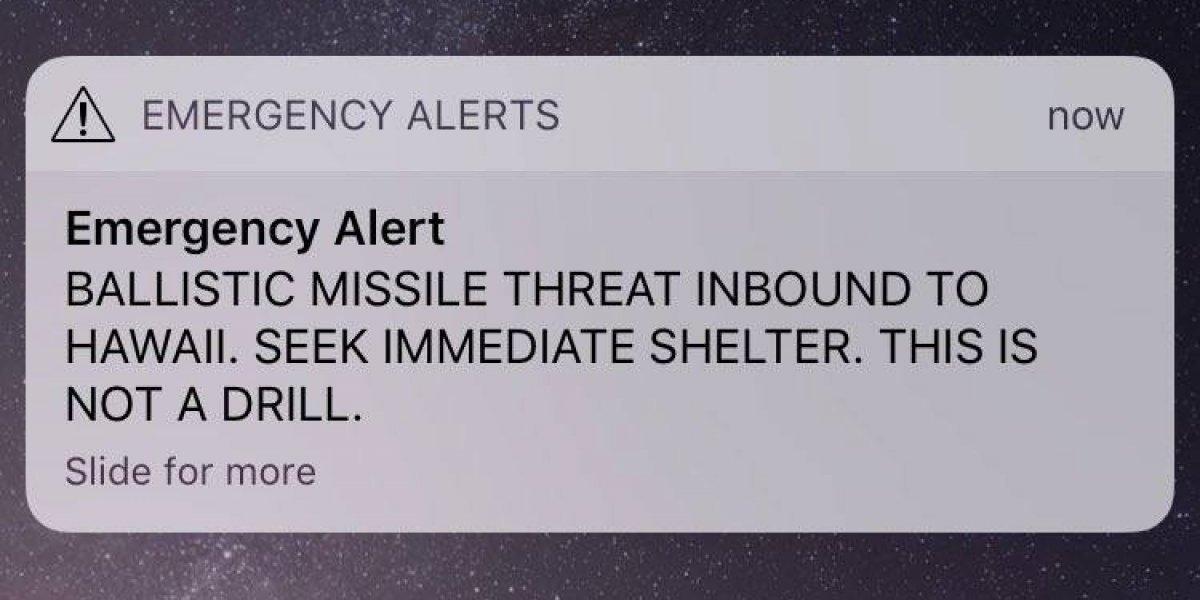Así sorprendió falsa alerta de misil transmisiones deportivas en Hawaii