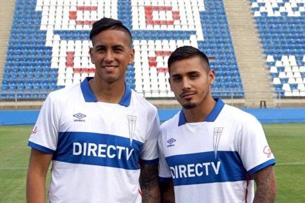 Andrés Vilches y Marcos Bolados