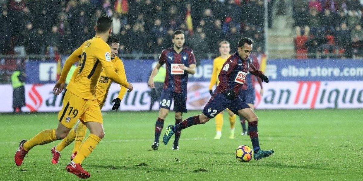El Atlético Madrid le impide al Eibar de Fabián Orellana entrar en zona de copas