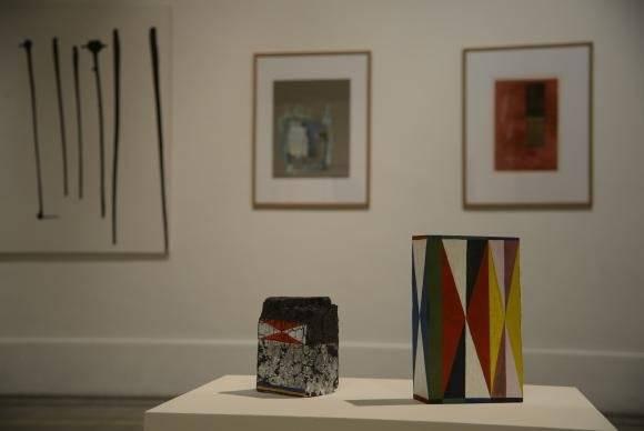 O Espaço da Arte reúne obras diversas que fazem parre da coleção do museu | Fernando Frazão/Agência Brasil
