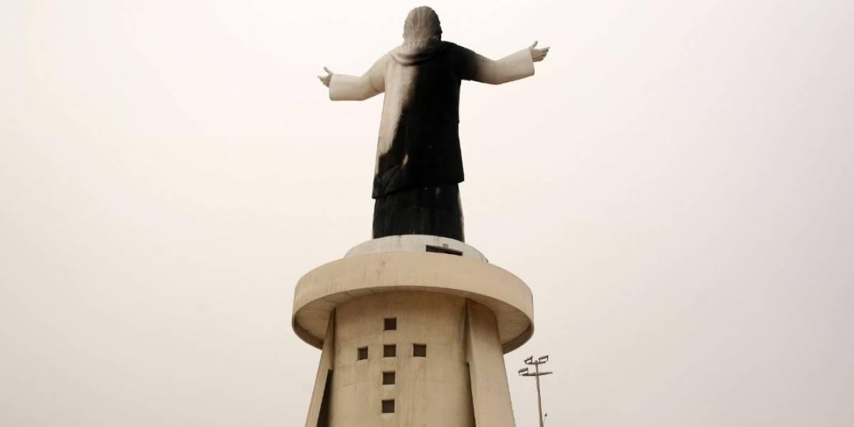 Fogo danifica estátua doada pela Odebrecht no Peru dias antes de visita do Papa