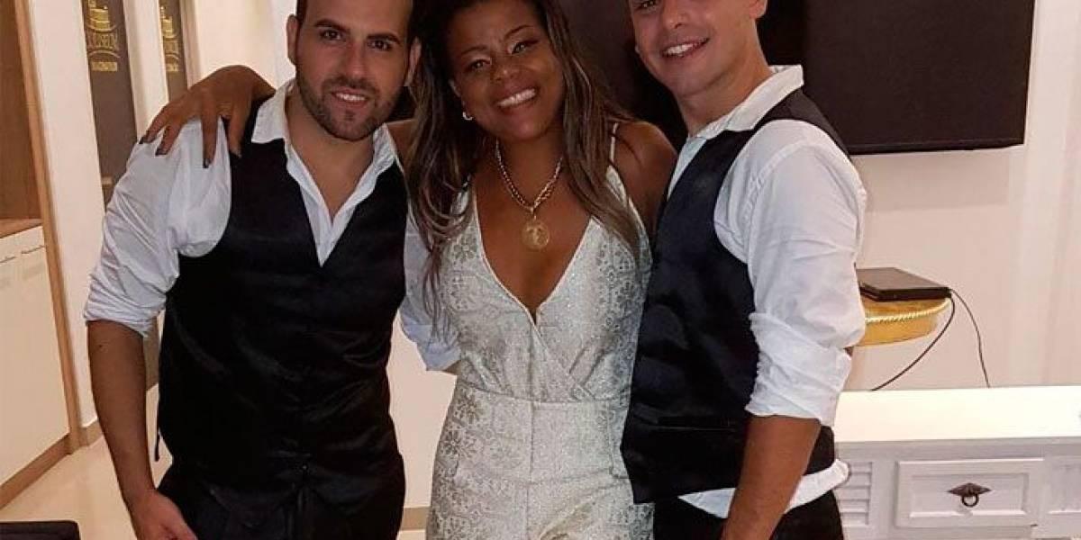 Tati Quebra Barraco canta em casamento gay: Amo meu público LGBT