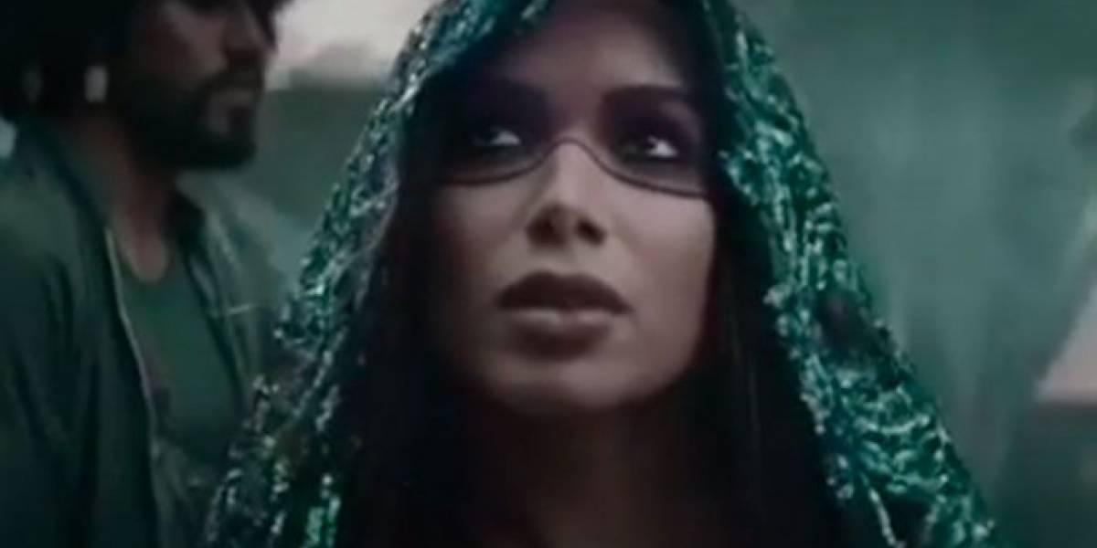 Anitta divulga prévia cinematográfica de Machika, com J Balvin
