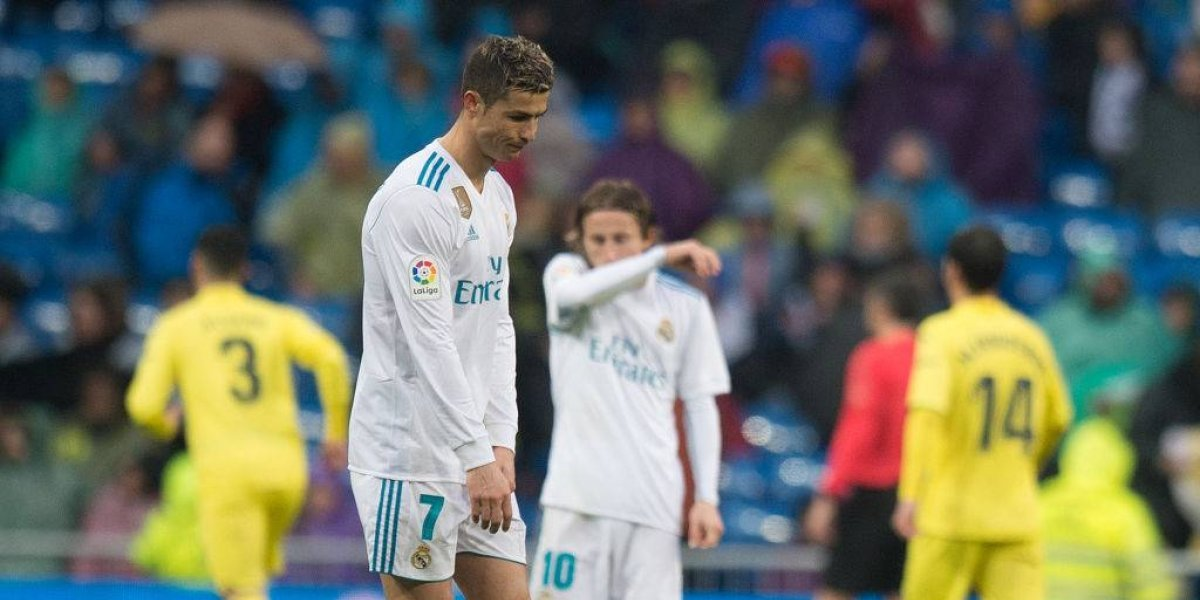 Sigue en crisis: Real Madrid perdió con Villarreal en casa y queda colgando en la zona de Champions