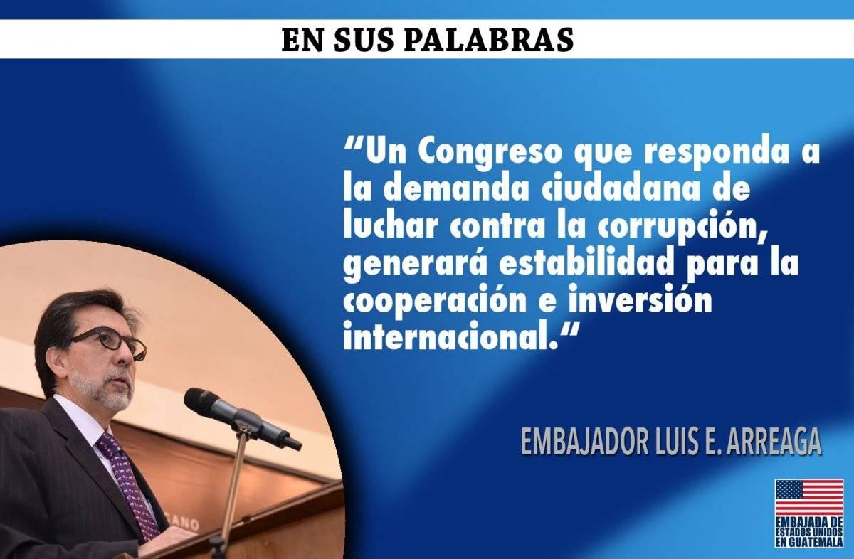 Mensaje Luis Arreaga