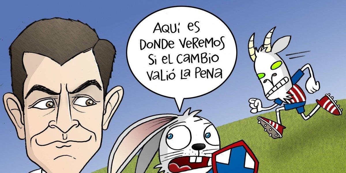 Caixhina tendrá prueba de fuego contra Chivas