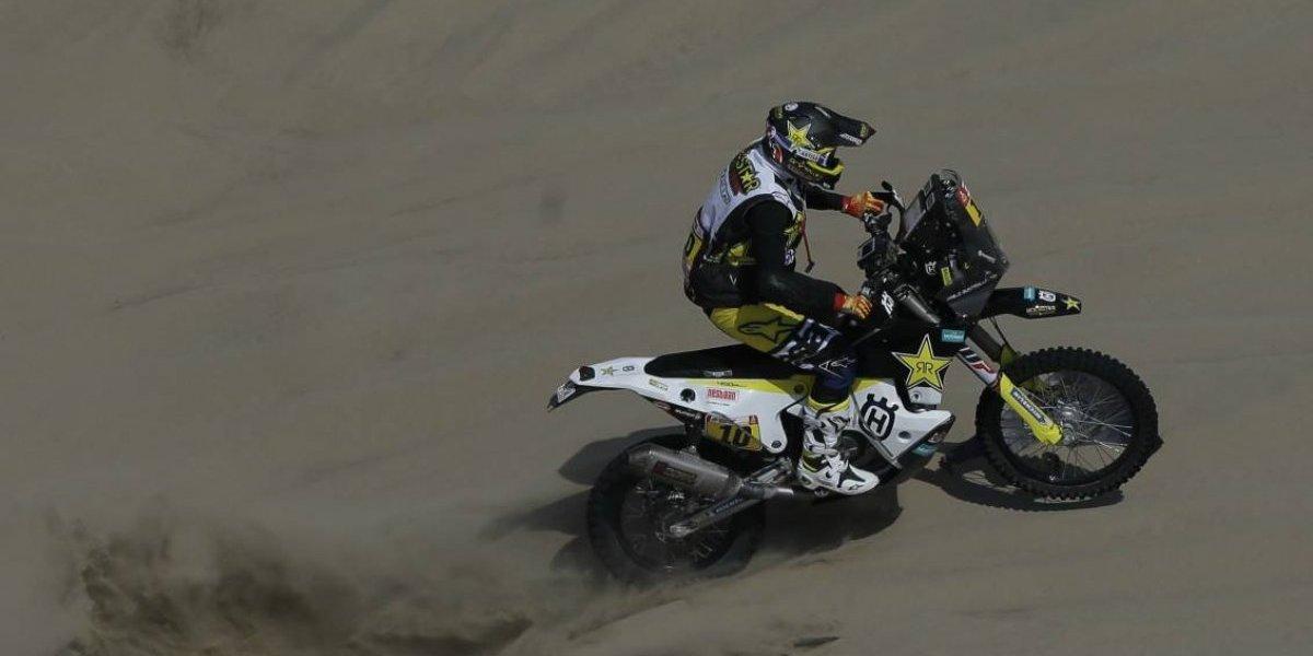 Pablo Quintanilla culminó quinto en la séptima etapa del Dakar 2018