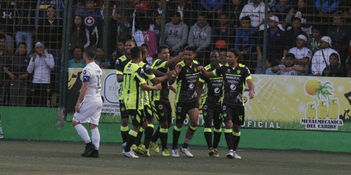 Comunicaciones se estrella contra el campeón Antigua GFC y sufre su primera derrota