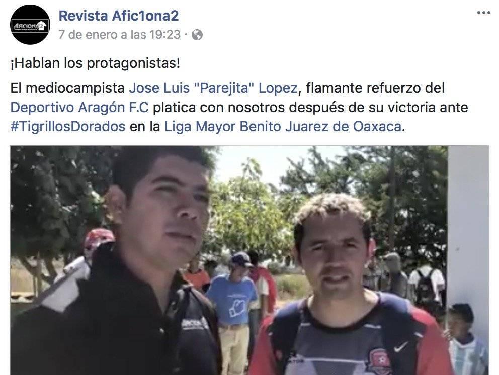 """Entrevista con """"Parejita"""" López"""