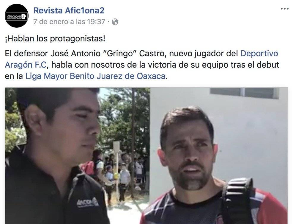 """Entrevista con """"Gringo"""" Castro"""