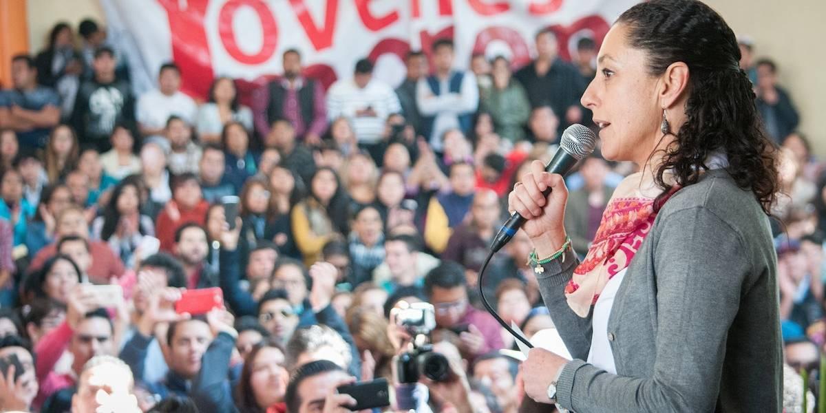 Cancelan evento de Claudia Sheinbaum en la Venustiano Carranza