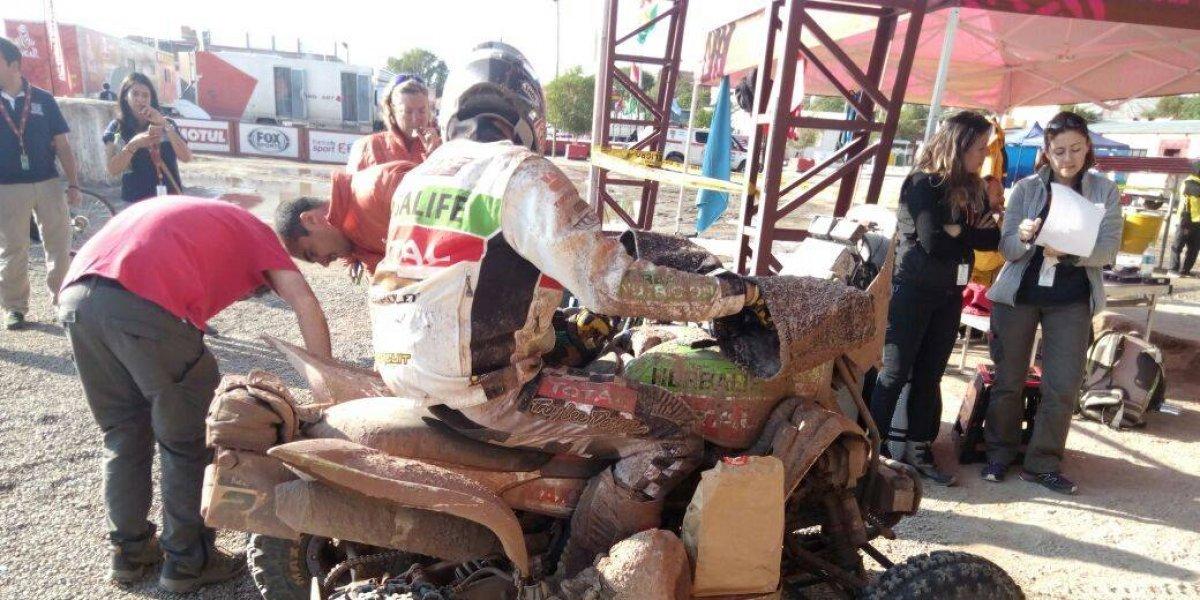 "La etapa maratón dejó la ""embarrada"" en el Dakar 2018"