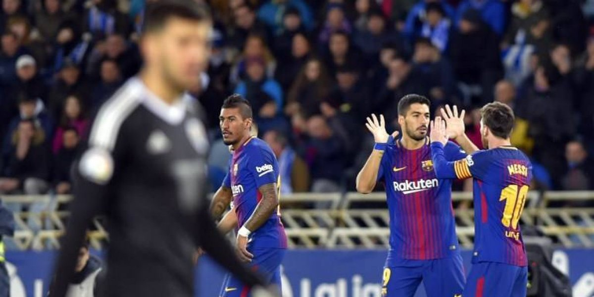 El Barcelona no perdona y viene de atrás para ganar ante la Real Sociedad