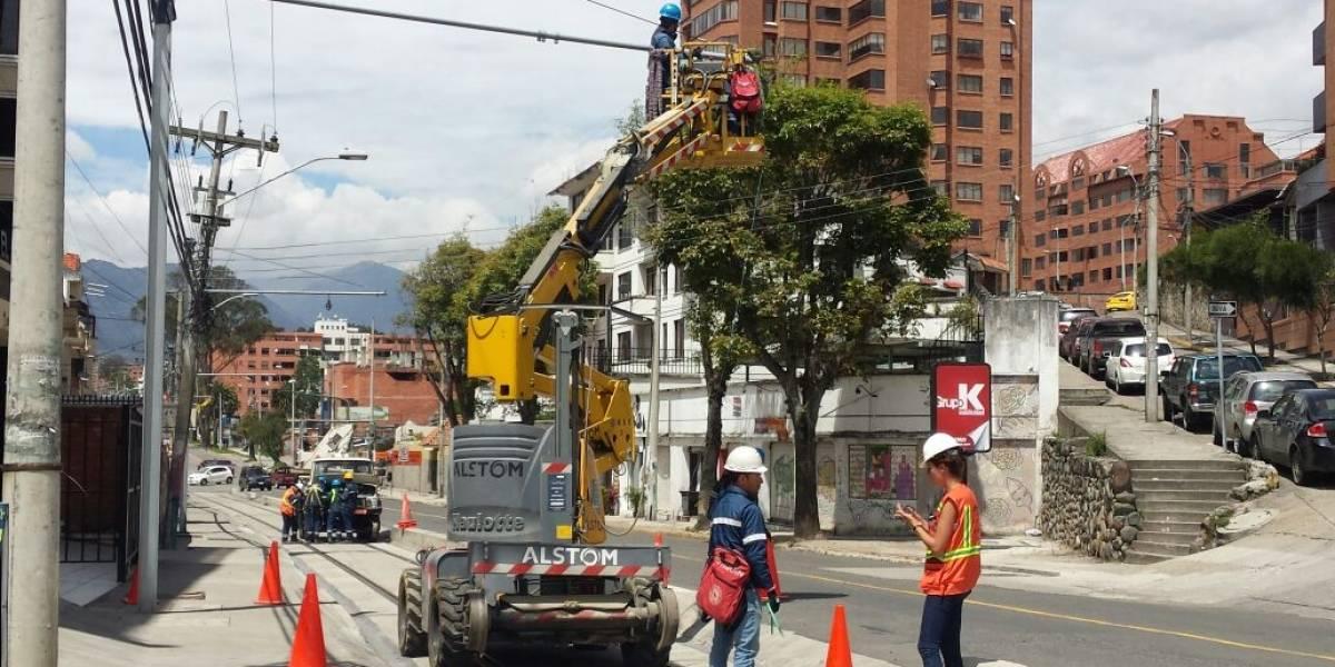 Nuevo corte de luz por trabajos del Tranvía
