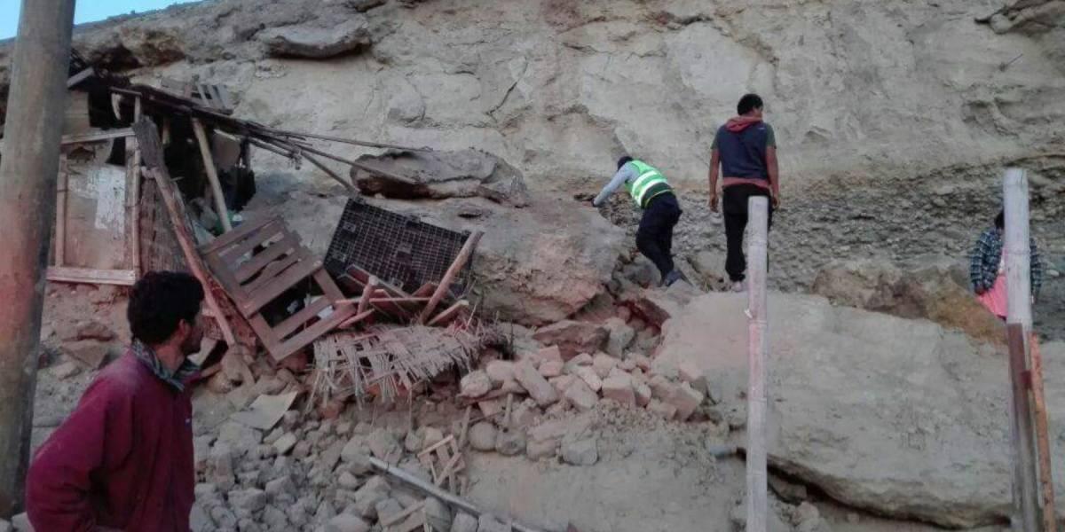 Sismo de 6.8 grados sacude el sur de Perú deja un muerto y 65 heridos