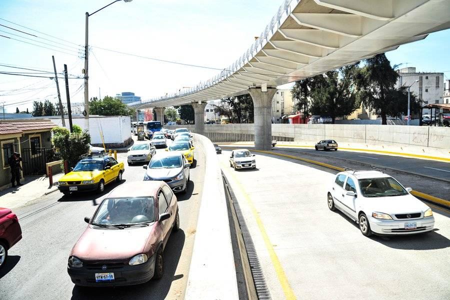 Anuncian cierres viales nocturnos en desnivel de Estación Basílica