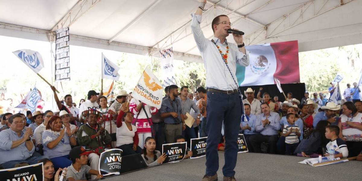 Ricardo Anaya asegura que no quiere división, sino unidad
