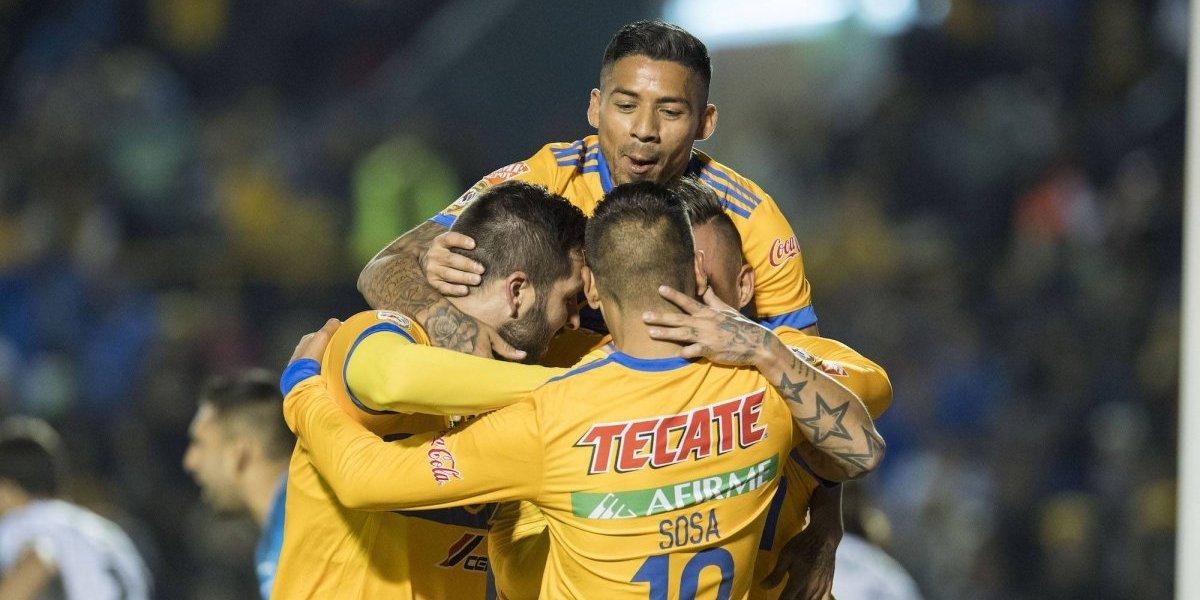 Tigres obtiene su primera victoria en la Liga MX