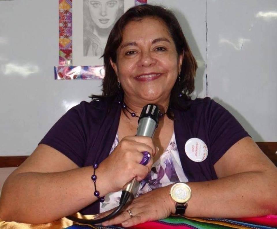 Miriam Maldonado, madre de Ana Lucía