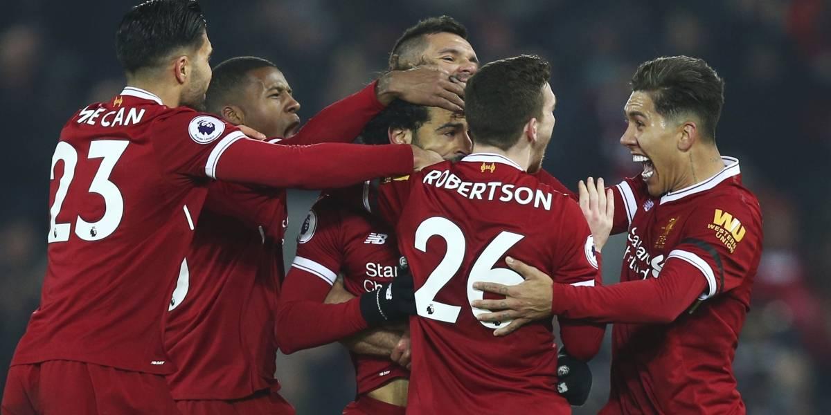 Liverpool rompe el invicto del Manchester City